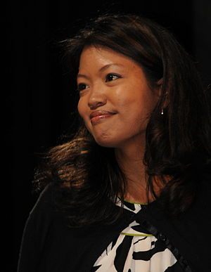Michelle Malkin - At the 2008 RightOnline Summit  in Dallas, Texas (2008)