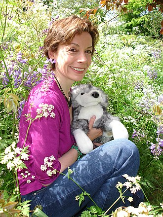 """Michelle Paver - Image: Michelle Paver, author of the bestselling """"Wolf Brother"""" series of books"""
