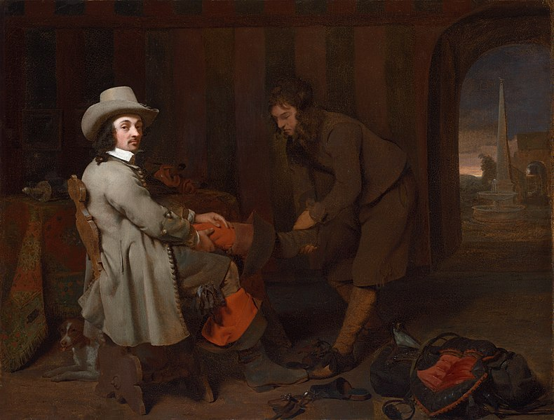 Datei:Michiel Sweerts - Anthonij de Bordes and His Valet.jpg