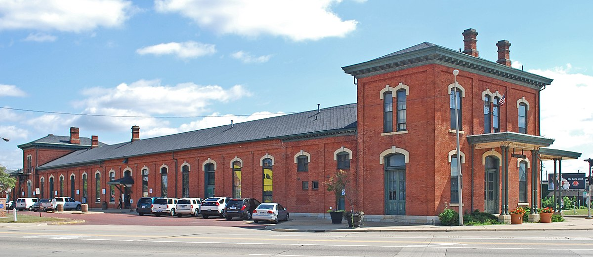 1873 : New Jackson Rail Depot Dedicated