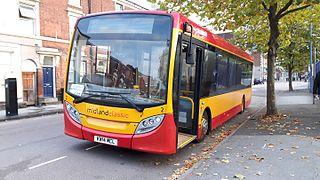 Midland Classic Burton upon Trent bus operator