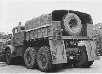 Thornycroft Antar - Ballast tractor body (Dutch Army)