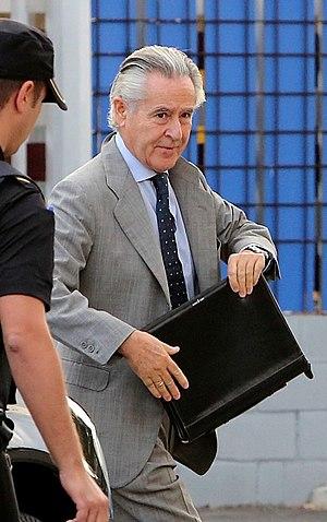 Miguel Blesa - Image: Miguel Blesaentrando juicio tarjetas black EDIIMA20160926 0120 4