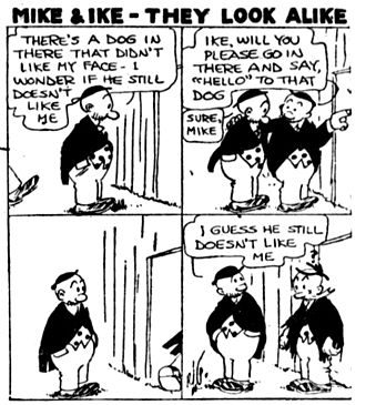 Mike and Ike (They Look Alike) - 1922 comic strip