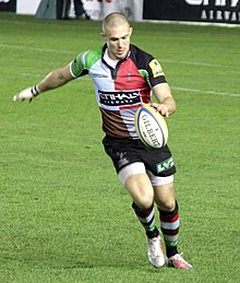 Description de l'image  Mike Brown (rugby union).jpg.