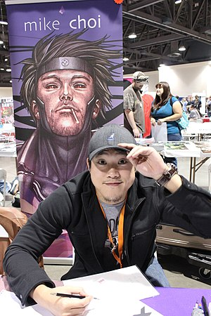 Michael Choi (comics) - Choi in 2012