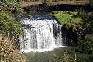 Millstream Falls - Image: Millstream Falls 4467