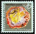 Mineral Heritage Petrified Wood 10c 1974 issue U.S. stamp.jpg