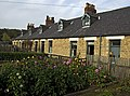 Miners Cottages, Pit Village, Beamish Museum, 24 October 2011.jpg