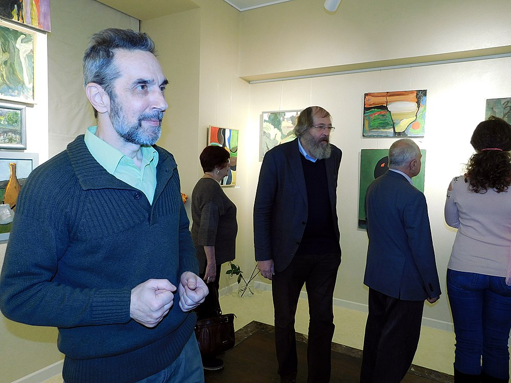 Minima gallery opening (Green collisions; 2018-12-01) 12.jpg