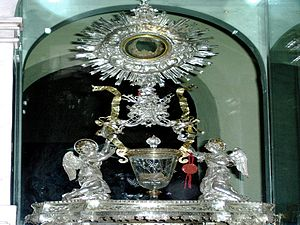 Eucharistic miracle - Sacrarium of the Eucharistic miracle of Lanciano