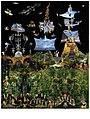 Miroslav Huptych, kalendář Ráj (Paradise) 5. list (2017), počítačová grafika 650 x 490 mm.jpg