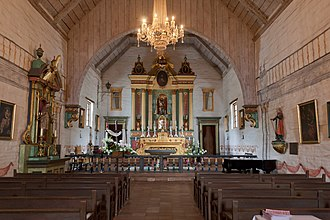 Mission San José (California) - The chapel interior at Mission San José.