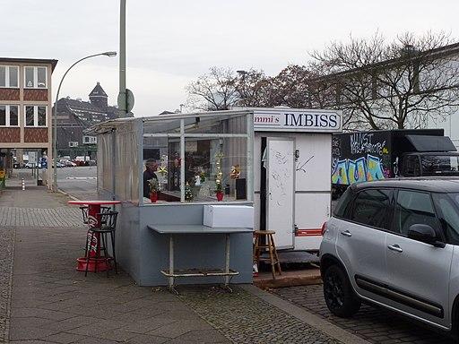 Moabit Westhafenstraße Brummi's Imbiss