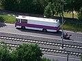 Modřanská, autobus Vězeňské služby, z Branické skály.jpg