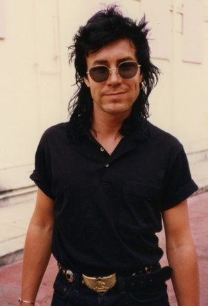 James Freud of Models outside the Roxy in West...
