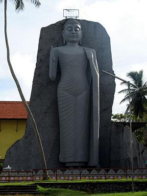 Dondra - Image: Modern Buddha Statue at Dondra, Sri Lanka 0673