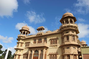 Clifton, Karachi - The famous Mohatta Palace is located in Clifton
