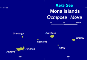 Mona Islands - Image: Mona 1w