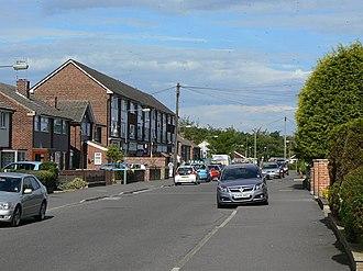 Silverdale, Nottingham - Image: Monksway, Silverdale geograph.org.uk 1323339