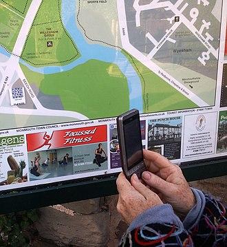 Monmouthpedia - Image: Monmouthpedi A Q Rpedia map