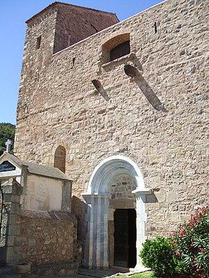 Montbolo - Image: Montbolo Eglise Exterieur