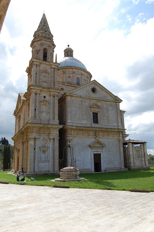 Montepulciano San Biagio Facciata