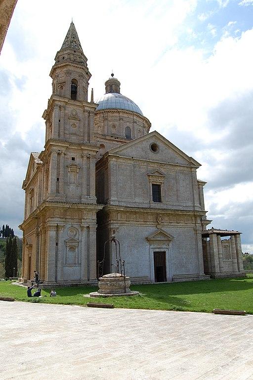Montepulciano, San Biagio, facciata