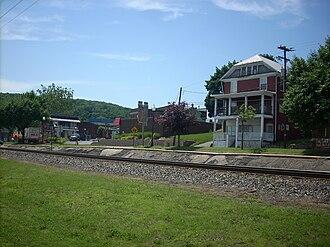Montgomery, Pennsylvania - Rail line in Montgomery
