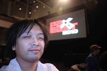 English: Monty Oum at the Penny Arcade Expo Ea...
