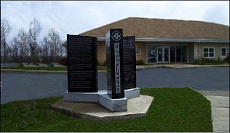 Hants County, Nova Scotia - Monument to the Treaty of 1752, Shubenacadie First Nation, Nova Scotia