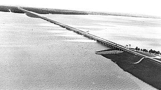 Morganza Spillway dam in Louisiana, United States of America, United States of America