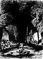 Morgat La grotte de l'autel -Mme de Lalaing Les côtes de France 1886-.jpg