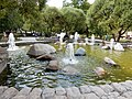 Moscow, Chistoprudny Boulevard, Fountain 2014.JPG