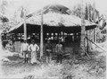 Moské. Fyra män står framför. Sulawesi. Indonesien - SMVK - 000310.tif