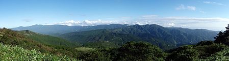 Mount Amagi and Izu peninsula 20100718.jpg