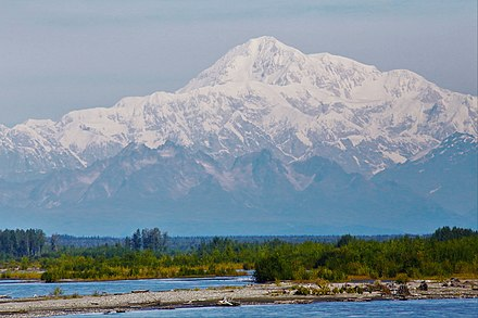 Highest peak in the country, Denali Mount Denali.jpg
