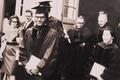 Mujaddid Ijaz graduates with Ph.D. in Physics, Ohio University, 1964.png