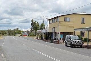 Mulgildie Town in Queensland, Australia