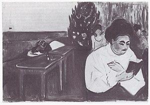 Christmas in the Brothel - Image: Munch, Weihnachten im Bordell (1904)