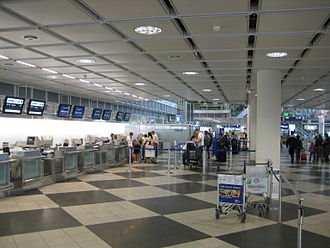 Munich Airport - Check-in area at Terminal 1B