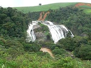 Bonito, Pernambuco - Urubu Waterfalls between Bonito and Primavera