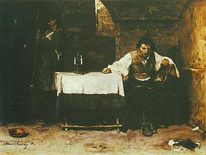 Mihály Munkácsy - The Last Day of a Condemned Man, 1869
