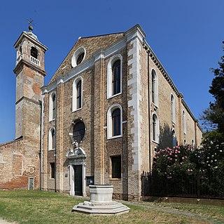 Santa Maria degli Angeli, Murano church in Murano, Venice, northern Italy
