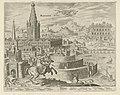Muren van Babylon Babylonis Mvri (titel op object) De acht wereldwonderen (serietitel), RP-P-1891-A-16453.jpg