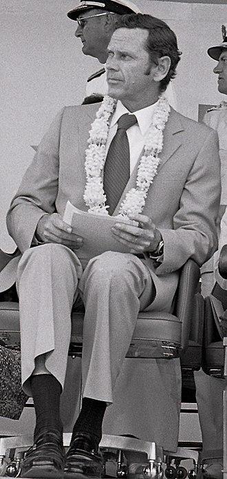Richard W. Murphy - Richard W. Murphy at Clark Air Base in 1979.