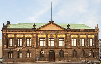 National Museum, Poznań - Historic south wing, built in 1904