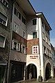 Museumstraße 29 -- Fassadenfresken von Albert Stolz.jpg
