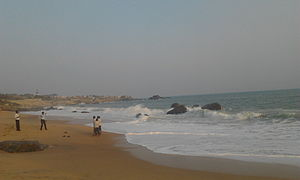 Muttom, Kanyakumari - A scenic view of Muttom beach