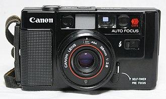Autofocus - Image: My Canon AF35M (4307694589)